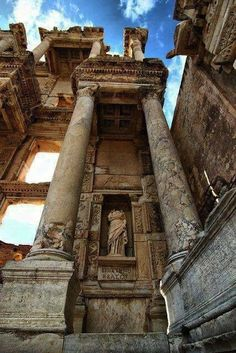 The library of Kelsos.Ephesos,Ionia,Asia Minor Ioannis Tz (@tzoumio) | Twitter