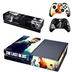 *NEW* Xbox One Skin! The Last Of Us Includes : (2) Controller Skins (1) Console Skin - (1) Kinect Skin