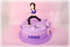 Anne's Warrior Yoga Cake