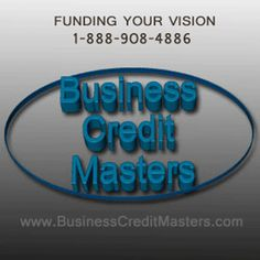 #Fund your vision with #Business Credit Masters now! Call 1-888-908-4886 or visit www.BusinessCreditMasters.com