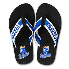 Shouldda had these on my Christmas wish list! Royals Flip Flops