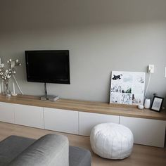 Diy entertainment center ikea hack hacks living room hack ideas on custom entertainment center hack home . Living Room Tv, Home And Living, Muebles Living, Deco Design, Ikea Hacks, Ikea Hack Besta, Ikea Stuva, Home Interior Design, Room Inspiration