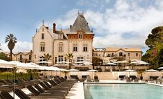 Chateau St Pierre de Serjac, near Béziers, Languedoc, France - Explore & Book Caves, Travel List, Travel Guide, St Pierre, Spa, South Of France, Country Life, Best Hotels, Cottage Style