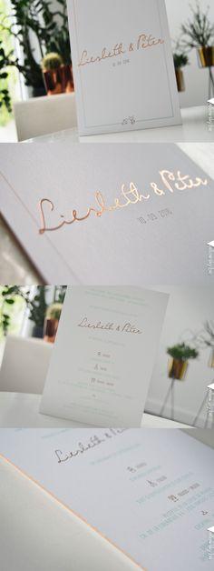 Stylish wedding invitation for Liesbeth and Peter! Designed by Yellow Sky! Wedding Paper, Wedding Cards, Our Wedding, Dream Wedding, Wedding Venues, Wedding Yellow, Formal Wedding, Destination Wedding, Pastel Wedding Invitations