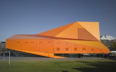 Theatre Agora, in Lelystad, Netherlands. Designed by UNStudio