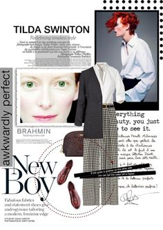 """""""Tilda Swinton"""" by leilagoncalves ❤ liked on Polyvore"""