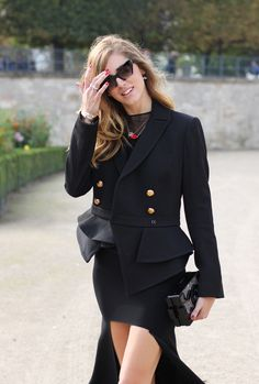 paris fashion week: street styles.