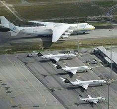 "aviationblogs: ""An-225 Mriya in Brazil - it will lift a 155t transformer to Chile """