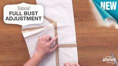 Learn how to make full bust adjustments as well as how to correctly make alterations for specific materials. Use these tips to make your clothes be the perfect fit. http://bit.ly/1fMjapG #LetsSew