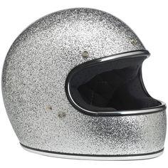 Gringo Helmet in brite silver MF by Biltwell Inc.