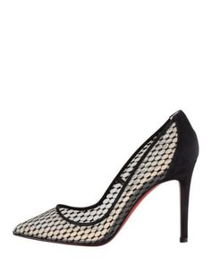 CHRISTIAN LOUBOUTIN Pigaresille 100 Pumps