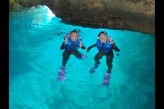 Have a kayak and snorkeling adventure in Blue Cave, Okinawa! Enjoy the sunny beach and marvel at the glowing blue ocean in between crevices and tunnels. Here is the itinerary: - Gather at our handmade marine house. - Get into a kayak and row...