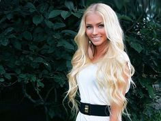 This is TOTALLY Alissa! :D  She's tall, blonde, tan, and looks like a foreigner :)