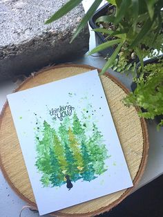 Deck the Halls with Inky Paws Week - Day 3 - Ruby Naz Holiday Cards, Christmas Cards, Watercolor Cards, Watercolor Ideas, Dog Cards, Deck The Halls, Sympathy Cards, Distress Ink, Cardmaking