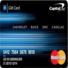 Gm Credit Card >> Capital One Gm Credit Card Login To Access Online Account