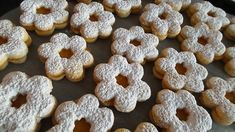 Linzer Biscuits - Traditional Christmas Baking - An Island Chef Best Christmas Cookies, Christmas Baking, Christmas Christmas, Linzer Cookies, Kneading Dough, Shortcrust Pastry, Healthy Cake, Tray Bakes, Cookie Recipes