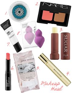 Some of my favorite products from #Sephora