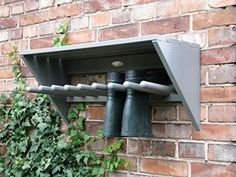 My little garden Wooden Boot Rack Welly Shoe Storage 4 Pairs Wall Mounted Boots Wellie Dry Shelf Lam Outdoor Shoe Storage, Boot Storage, Patio Storage, Wellies Boots, Diy Shoe Rack, Shoe Rack For Sale, Shoe Racks, Shelves For Sale, Yard Art