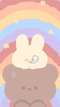 Cute Pastel Wallpaper, Soft Wallpaper, Bear Wallpaper, Cute Disney Wallpaper, Aesthetic Pastel Wallpaper, Iphone Background Wallpaper, Cute Cartoon Wallpapers, Kawaii Wallpaper, Aesthetic Wallpapers