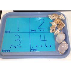 Sea life theme Math