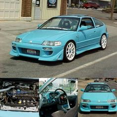 Check out 88dohccrx's mods, gallery and more on their 1988 Honda CRX Si Showcase at PureHonda.com. #PureHonda