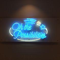Nothing but a beautiful neon sign. Neon Rosa, Neon Bleu, Dark Spirit, Neon Words, Aesthetic Light, Light Quotes, Decoration Originale, Light Art, Light Blue