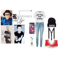 Rap monster ideal type outfit