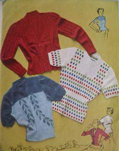 Stitchcraft November 1949 Vintage 1940s van sewmuchfrippery op Etsy