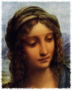 Leonardo Da Vinci - Renaissance - Madonna dei Fusi (Madonna of the Yarnwinder)… Madonna, Mona Lisa, La Madone, High Renaissance, Italian Art, Michelangelo, Religious Art, Famous Artists, Beautiful Paintings