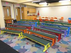Easy risers Design your own seating Kids Church Decor, Kids Church Rooms, Sunday School Decorations, Church Nursery, Kids Decor, Church Decorations, Church Ideas, Kids Church Stage, Children Church
