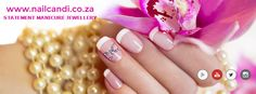 """""""Bowtique"""" in Pink Available on our website www.nailcandi.co.za  The ONLY reusable nail art available!  #3DNailArt #NailArtCharms"""