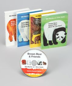 Take a look at this Brown Bear & Friends Board Book & CD Set by Macmillan on #zulily today!