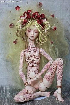 `Venus`, fine porcelain ball jointed  doll by Doll Menagerie