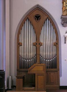 Amsterdam - Church of Saint Peter and Paul (De Papegaai), Choir Organ by pietbron, via Flickr
