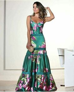 Product Name Fashion Sexy Floral Plunge Ruffles Layered Hem Evening Maxi Dress Brand Gracyly Color Floral SKU Gender Women Style Elegant/Sexy/Fashion Type Click The Photo to Find Stylish Jumpsuits>>> Click The Photo to Find Fashion Dresses>>> Couture Dresses, Fashion Dresses, Gala Dresses, Skirt Fashion, Pretty Dresses, Beautiful Dresses, Fishtail Dress, Paris Chic, Evening Dresses
