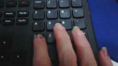 Digitação em teclado numérico aula 26