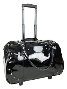 Trendy Flyer 19' Large Duffel Rolling Bag Luggage Travel Gym Purse Case Black *** Details can be found by clicking on the image.
