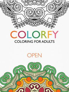 Colorfy coloring app for Android | Colorfy coloring app | Pinterest