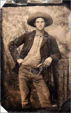 Hot Vintage Men: Handsome Cowboy
