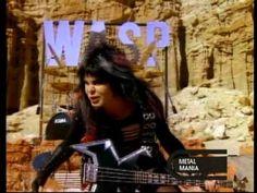 """Wild Child"" by W.A.S.P. [1985 original video]"