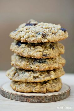 gluten free oatmeal cookies - made these and pretty good - a little fluffy/bready but not in a bad way!