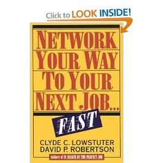 Network Your Way to Your Next Job... Fast! Call # NTWK 5
