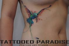 I like the idea of this tattoo but would want my hummingbird to be facing another way   Colibri tattoo