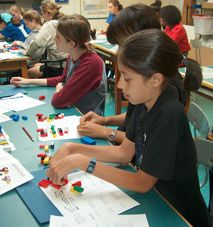 free lego chemistry lessons from MIT  The LEGO Chemical Reactions lesson introduces students to molecules, atoms, chemical notation, and chemical compounds (or reinforces these concepts) through an engaging hands-on wet lab, and LEGO models of atoms.