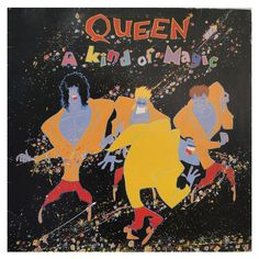 #Queen – A #KindofMagic - #vinil #vinilrecords #music #rock