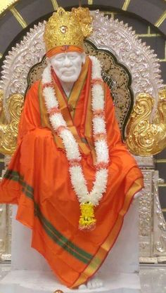 Om Sai Ram x lovely orange Sai Baba Hd Wallpaper, Ganesh Wallpaper, Bhagat Singh Wallpapers, Sai Baba Pictures, God Pictures, Baby Pictures, Shirdi Sai Baba Wallpapers, Shiva Tattoo Design, Rama Image