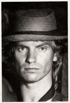 """Sting by Truus  This is when they filmed the video for """"Every Little Thing She Does Is Magic""""."""