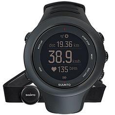 Für Läufer, Fahrradfahrer oder Schwimmer: die Suunto Ambit3 Sport ist die ultimative GPS Armbanduhr, sie bereichert jedes Ihrer Abenteuer. Die HR-Variante kommt mit einem Suunto Herzfrequenzgurt. Produktdetails: Intelligente, mobile Verbindung mit i...