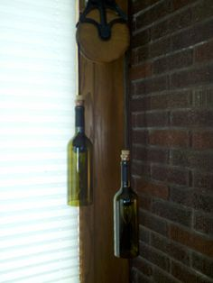 Why feature authentic vintage lighting on Etsy when there are wine bottles hung from barn pulleys by the sellers?