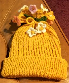 Knitted Hats, Beanie, Knitting, Tricot, Knit Caps, Cast On Knitting, Beanies, Stricken, Crocheting